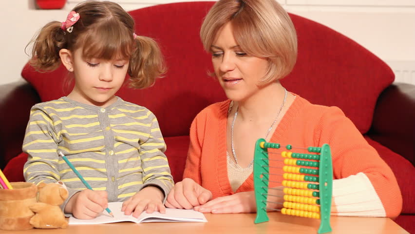 mom-and-daughter-learning-math
