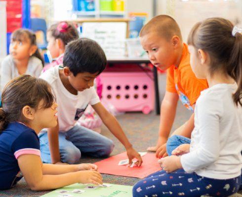 children-in-the-kindergarten